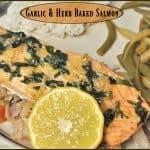 Garlic & Herb Baked Salmon