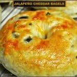 Jalapeño Cheddar Bagels