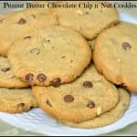 Peanut Butter Chocolate Chip n' Nut Cookies