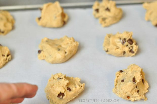 Peanut Butter Chocolate Chip n' Nut Cookies / The Grateful Girl Cooks!
