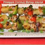 Pineapple Coconut Shrimp Kabobs