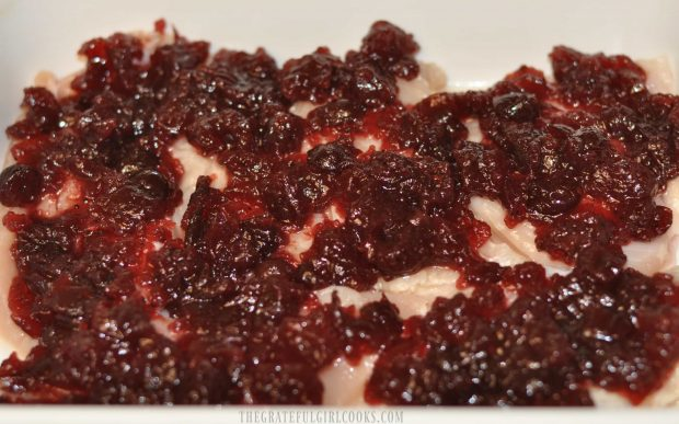 Cranberry Chicken / The Grateful Girl Cooks!