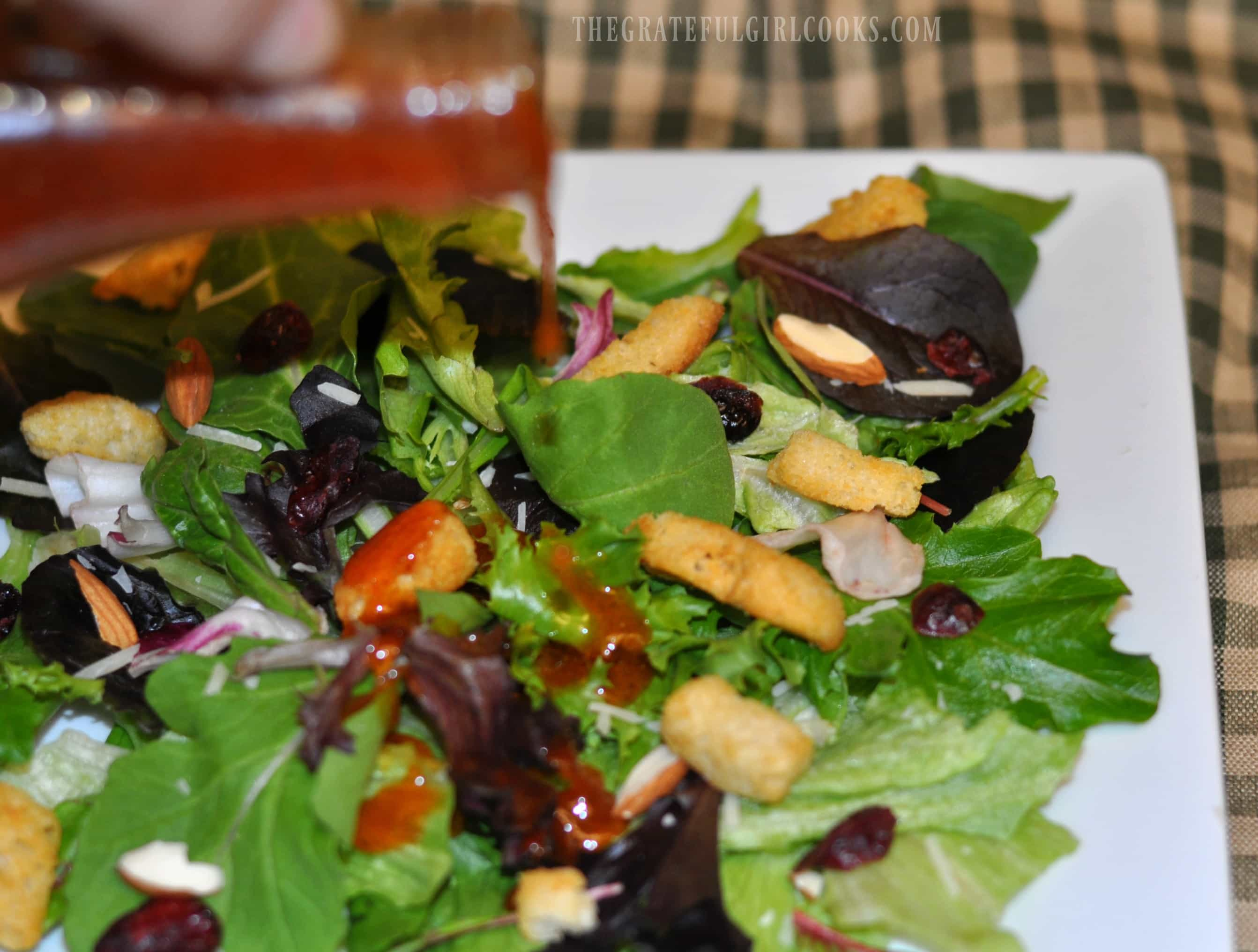 Homemade Catalina Salad Dressing / The Grateful Girl Cooks!