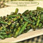 P.F. Chang's Spicy Green Beans (copycat)
