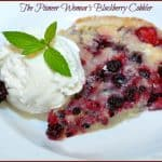 The Pioneer Woman's Blackberry Cobbler