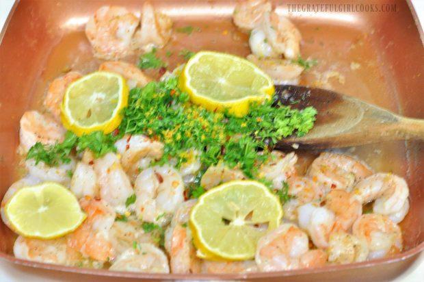 Shrimp Scampi / The Grateful Girl Cooks!