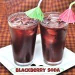Blackberry Soda