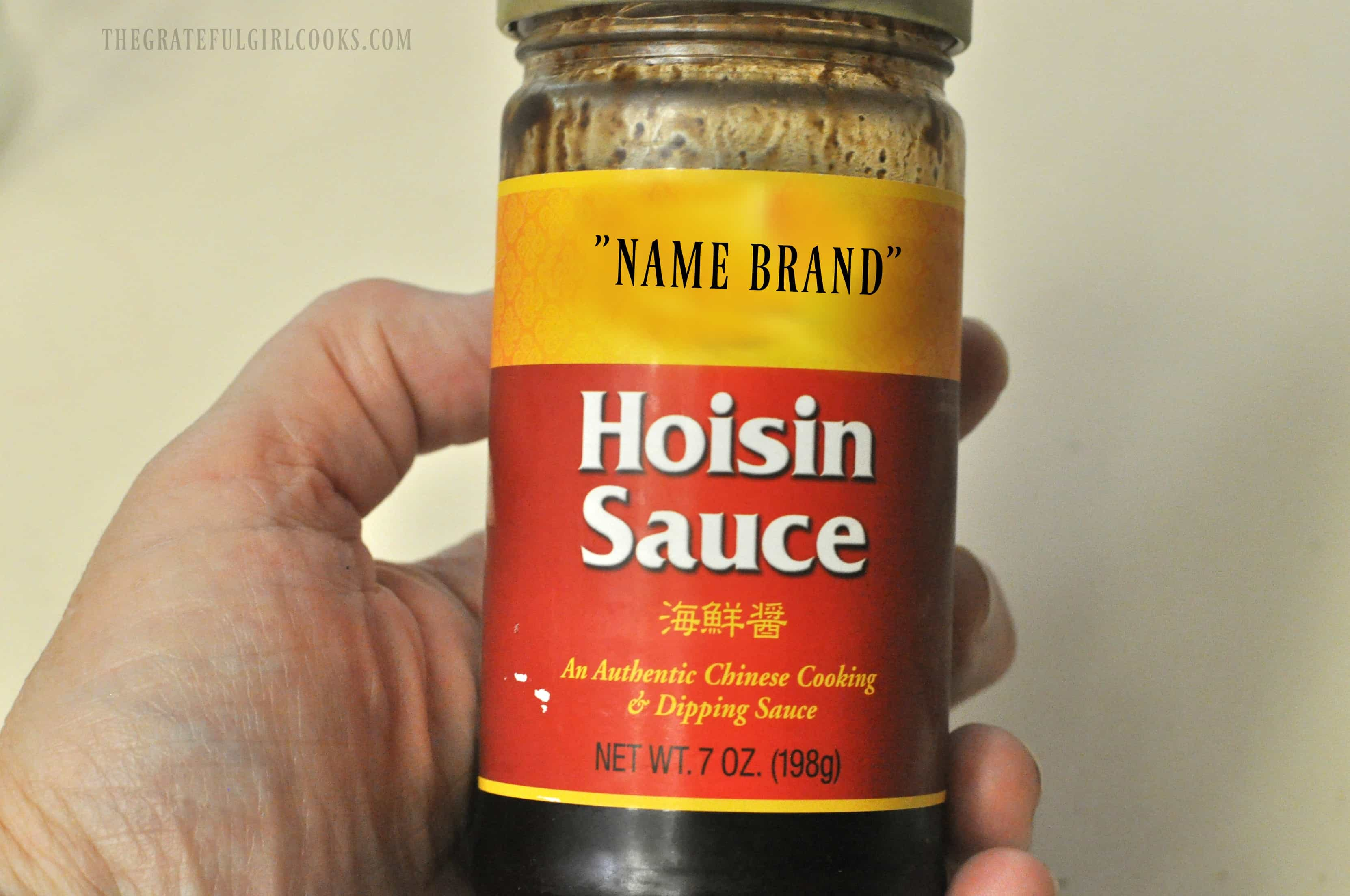 Homemade Hoisin Sauce / The Grateful Girl Cooks!