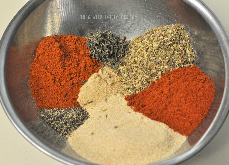Homemade Cajun Seasoning / The Grateful Girl Cooks!