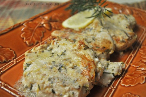 Lemon Rosemary Chicken Breasts / The Grateful Girl Cooks!