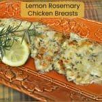 Lemon Rosemary Chicken Breasts