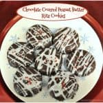 Chocolate Covered Peanut Butter Ritz Cookies