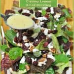 Creamy Lemon Salad Dressing