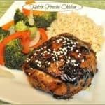 Hoisin Sriracha Chicken