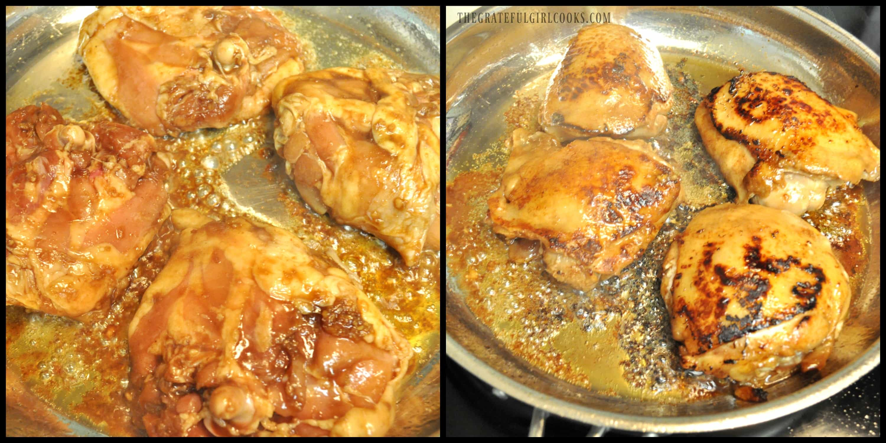 Hoisin Sriracha Chicken / The Grateful Girl Cooks!