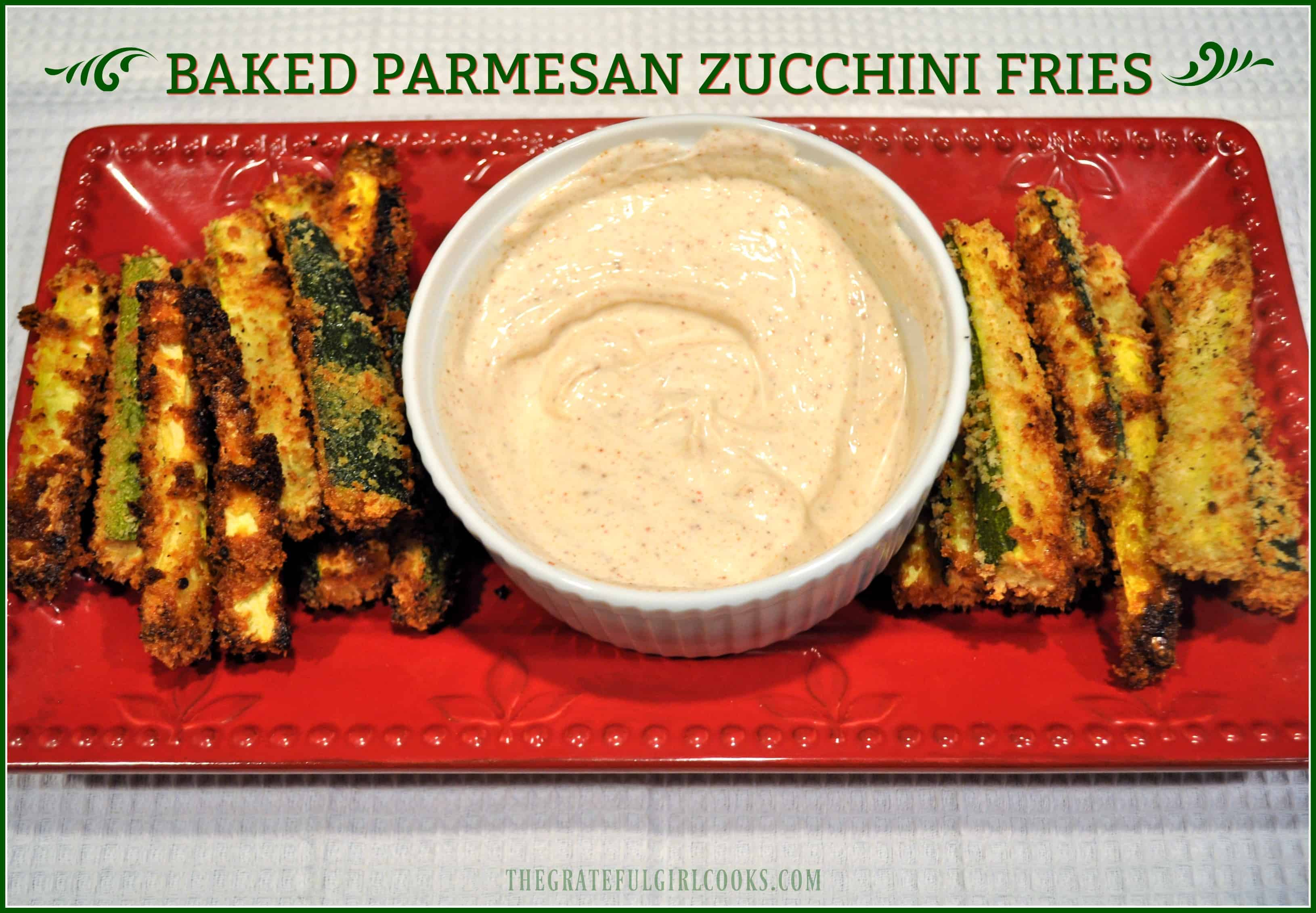 recipe: garlic parmesan zucchini fries [39]