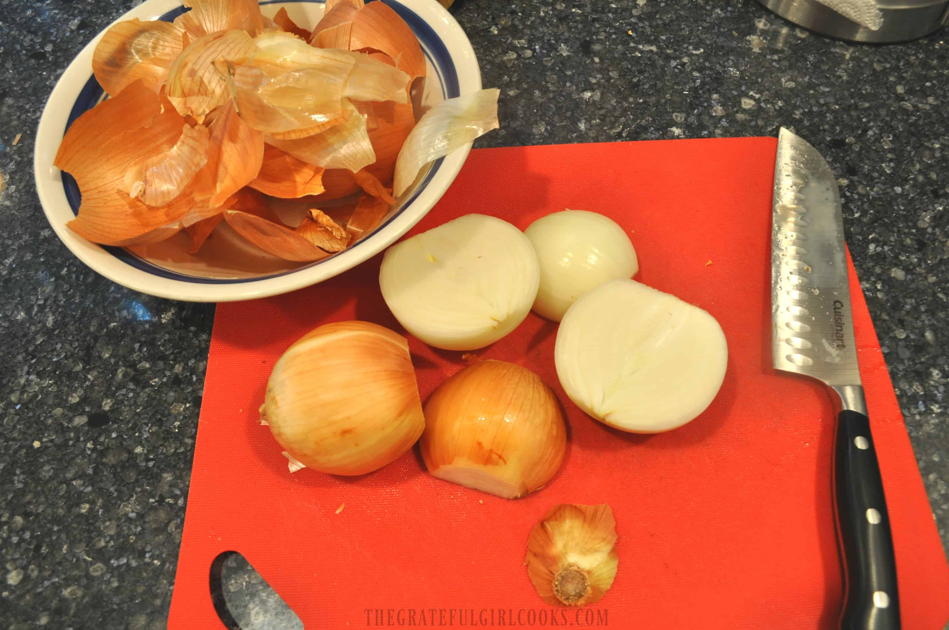 Weight Watchers French Onion Soup / The Grateful Girl Cooks!