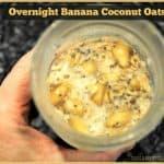 Overnight Banana Coconut Oats