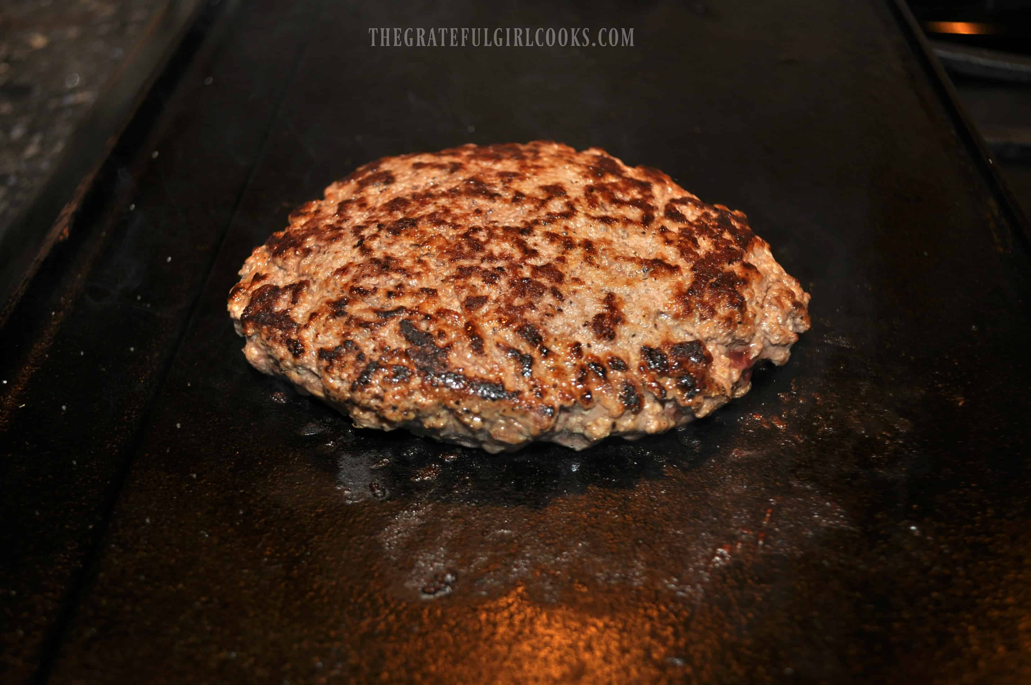 Grilled Patty Melt / The Grateful Girl Cooks!