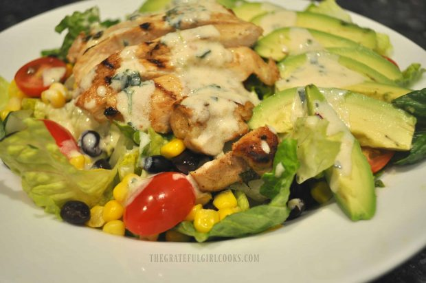 Southwest Chicken Salad / The Grateful Girl Cooks!