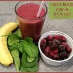 Triple Berry Banana Smoothie