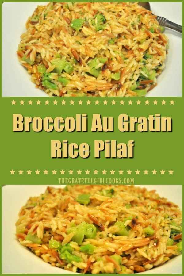 Broccoli Au Gratin Rice Pilaf