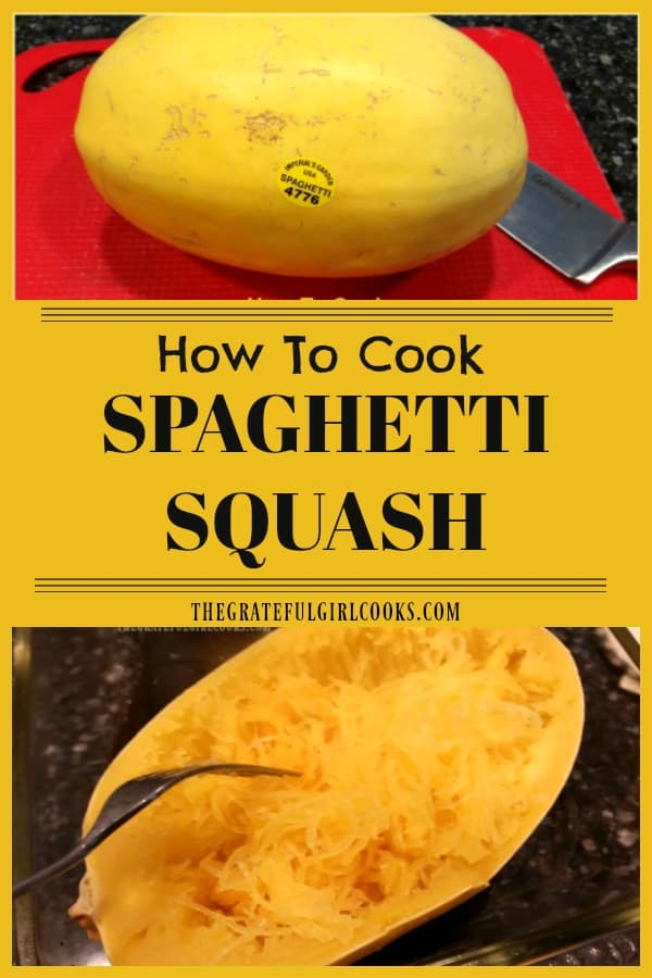 This easy tutorial for how to cook spaghetti squash makes it simple to prepare this vegetable dish, which can also be used as a substitute for pasta!