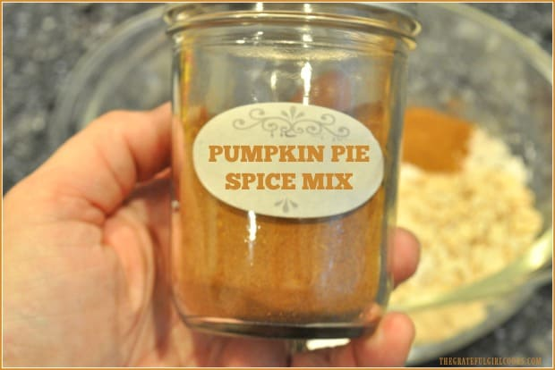 Will you need pumpkin pie spice mix for a favorite recipe this Fall? There's no need to run to the store and buy it, when it's SO EASY to make your own!