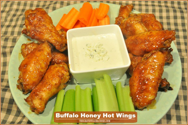 Buffalo Honey Hot Wings Mild The Grateful Girl Cooks