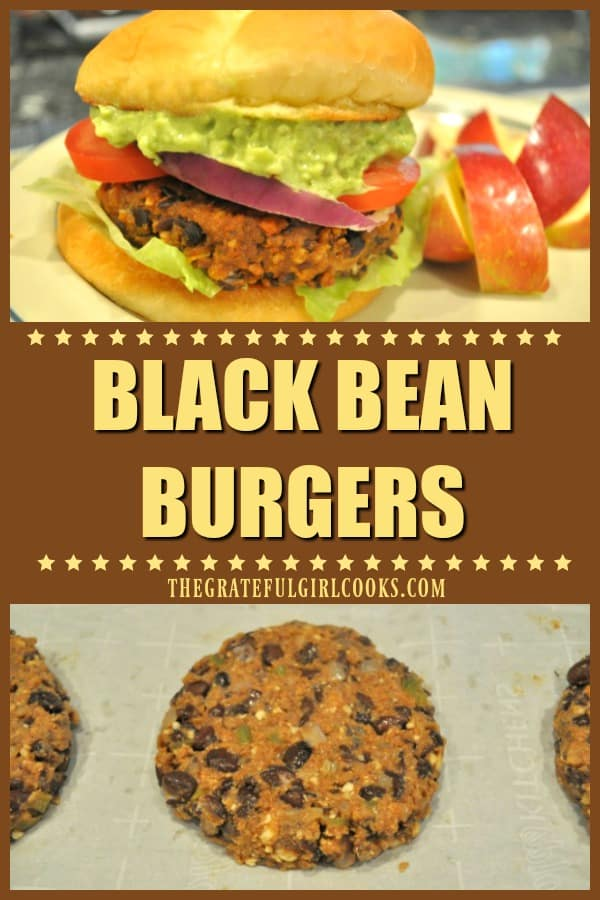 Looking for a recipe for fantastic tasting black bean burgers, that vegetarians and meat lovers both will LOVE? Look no further - here it is!