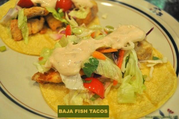 Baja Fish Tacos Weight Watchers The Grateful Girl Cooks