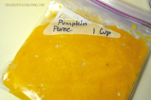Homemade or canned pumpkin puree is used as the base for this vinaigrette.