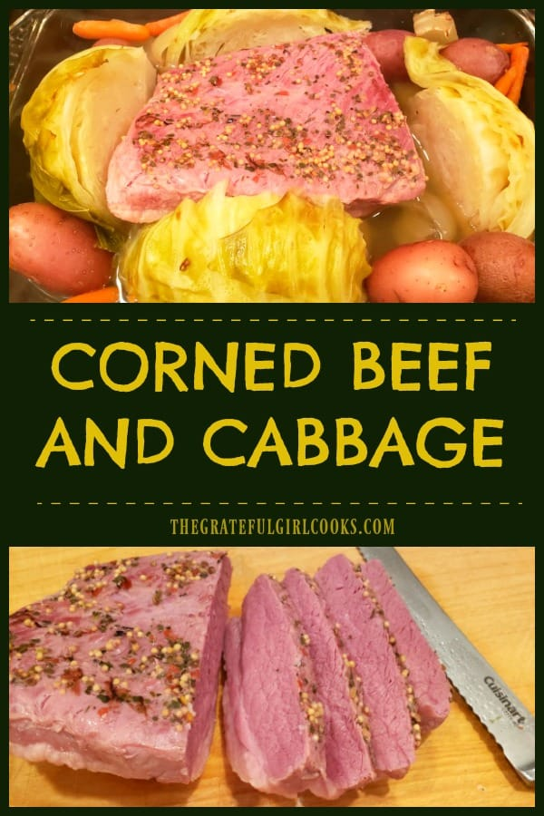 What's more Irish than Corned Beef and Cabbage? Baked with cabbage, red potatoes, carrots and onions, this St. Patrick's Day meal is yummy!