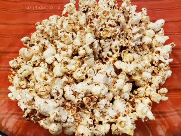 Time to eat some crunchy, tasty Popcorn Italiano!